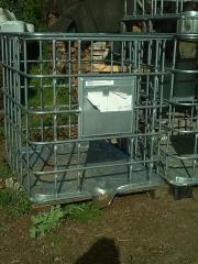 Gitterbox, Brennholzkorb