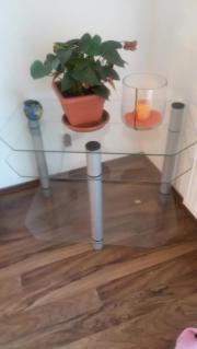 Glas-Fernsehtisch