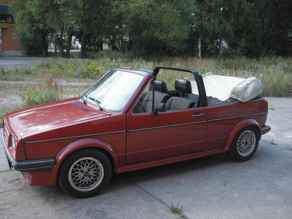 golf 1 cabrio in mannheim oldtimer youngtimer kaufen. Black Bedroom Furniture Sets. Home Design Ideas