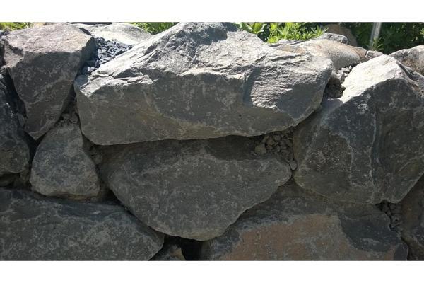 granit findlinge natursteinmauer in rheinbach sonstiges. Black Bedroom Furniture Sets. Home Design Ideas