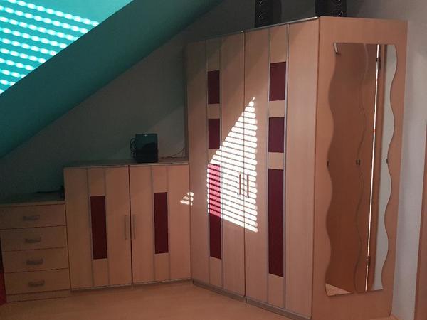 eckkleiderschrank gebraucht kaufen 2 st bis 75 g nstiger. Black Bedroom Furniture Sets. Home Design Ideas