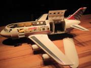 Großes Verkehrsflugzeug Jet