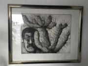 Günter Grass Lithografie