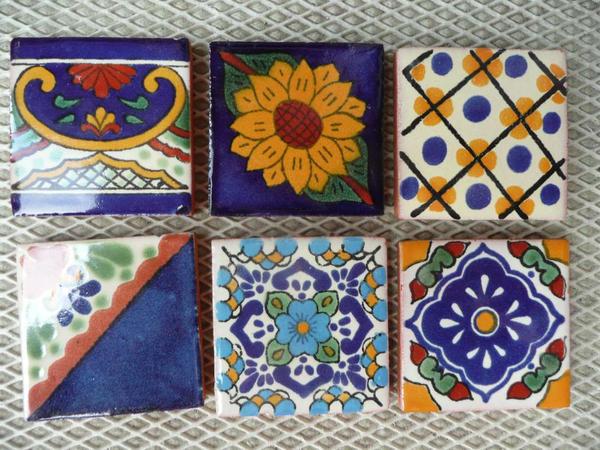 handbemalten mexikanische fliesen in rhodt fliesen keramik ziegel kaufen und verkaufen ber. Black Bedroom Furniture Sets. Home Design Ideas