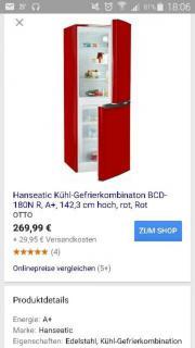 hanseatic kühl-gefrietkombinaton