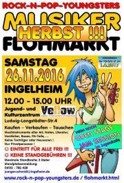 Herbst-Musikerflohmarkt + OPEN