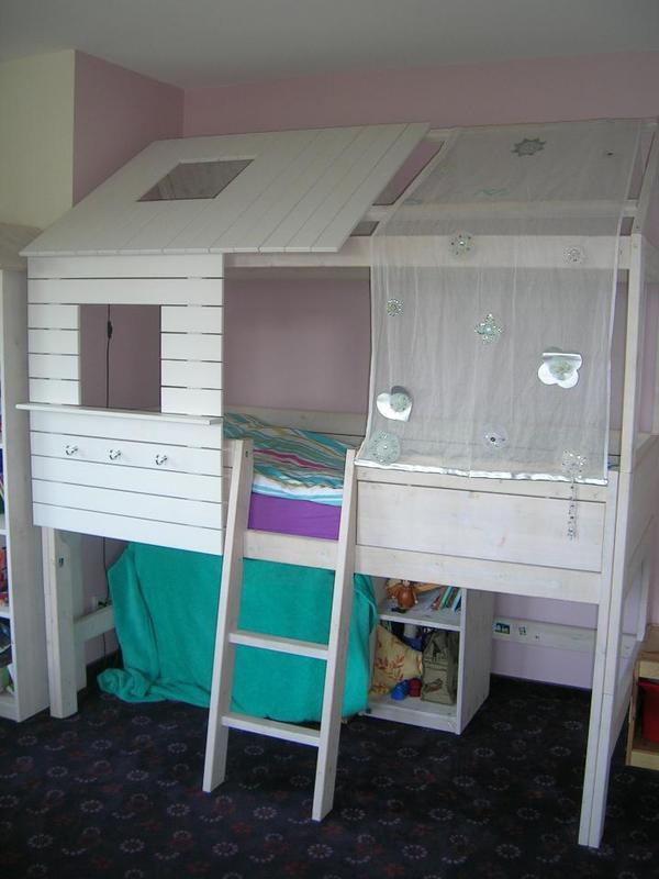 hochbett. Black Bedroom Furniture Sets. Home Design Ideas