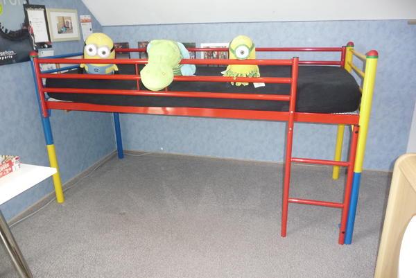 hochbett kinderbett jugendbett in bad d rkheim kinder. Black Bedroom Furniture Sets. Home Design Ideas