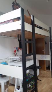 hochbett mit sofa haushalt m bel gebraucht und neu kaufen. Black Bedroom Furniture Sets. Home Design Ideas