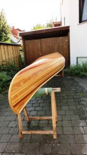 Holz-Kanu, Canadier