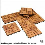 Holzfliesen Akazienholz vorgeölt