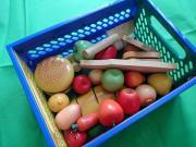 Holzspielzeug - Obst Gemüse
