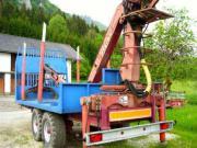 Holzwagen Rückewagen mit