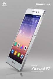 Huawei P7 weiß