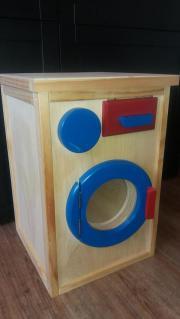 waschmaschine holz kinder baby spielzeug g nstige. Black Bedroom Furniture Sets. Home Design Ideas