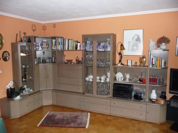 h lsta wohnzimmer anbauwand in m nchen. Black Bedroom Furniture Sets. Home Design Ideas