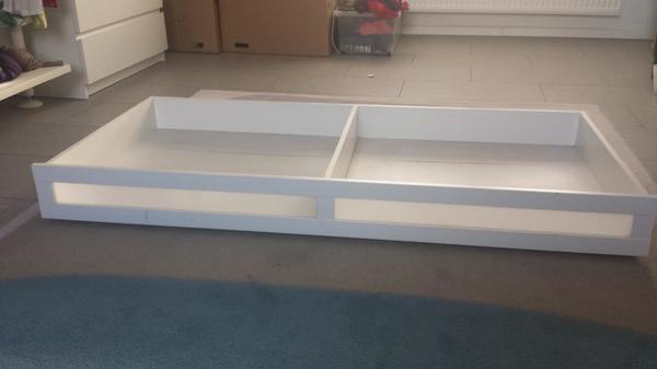 IKEA Aneboda Bettenkasten auf Rollen weiß in Mannheim - IKEA-Möbel ...