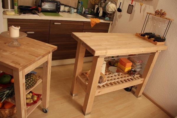 Beistelltisch küche ikea  Brise Vue Bois: IKEA Groland