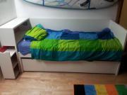 flaxa bett weiss haushalt m bel gebraucht und neu kaufen. Black Bedroom Furniture Sets. Home Design Ideas
