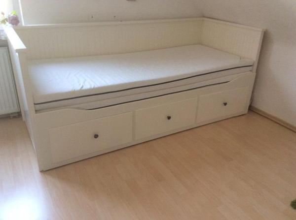 Hemnes Bett Ikea Bewertung : Ikea Hemnes Bett mit 3 Schubladen wei? in Bremen  Betten kaufen und
