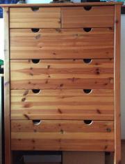 Ikea kommode bialitt haushalt m bel gebraucht und for Ikea holzkommode