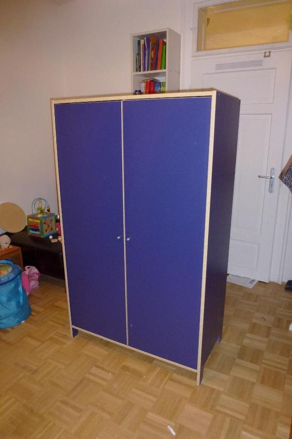 ikea kinder jugendschrank blau in m nchen ikea m bel kaufen und verkaufen ber private. Black Bedroom Furniture Sets. Home Design Ideas
