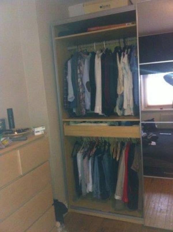 Ikea Kleiderschrank Vorhang Vestby ~ ikea kleiderschrank  neu und gebraucht kaufen bei dhd24 com