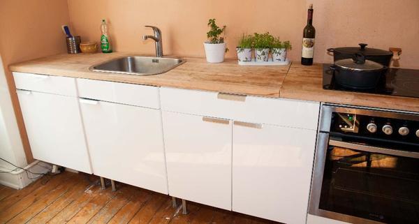 ikea k chen faktum grau. Black Bedroom Furniture Sets. Home Design Ideas