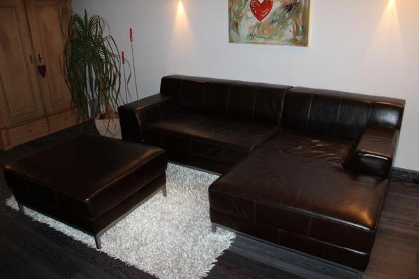 ikea ledersofa mit ikea m bel aus sindelfingen mitte. Black Bedroom Furniture Sets. Home Design Ideas