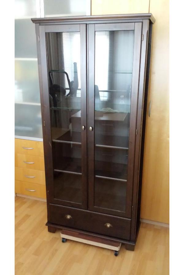 holz vitrine neu und gebraucht kaufen bei. Black Bedroom Furniture Sets. Home Design Ideas