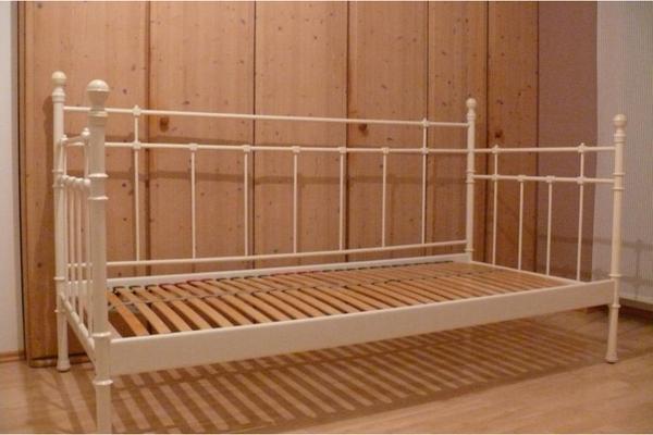 metallbett ikea tromsnes. Black Bedroom Furniture Sets. Home Design Ideas