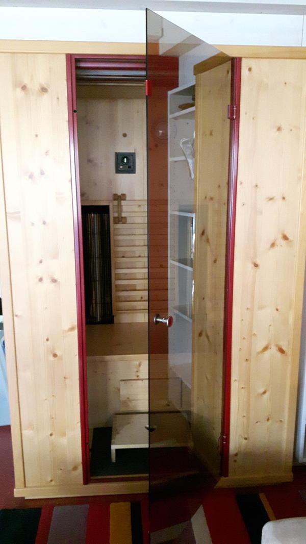 infrarot kabine in bregenz sauna solarium und zubeh r kaufen und verkaufen ber private. Black Bedroom Furniture Sets. Home Design Ideas