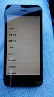 IPhone 5S . Icloud