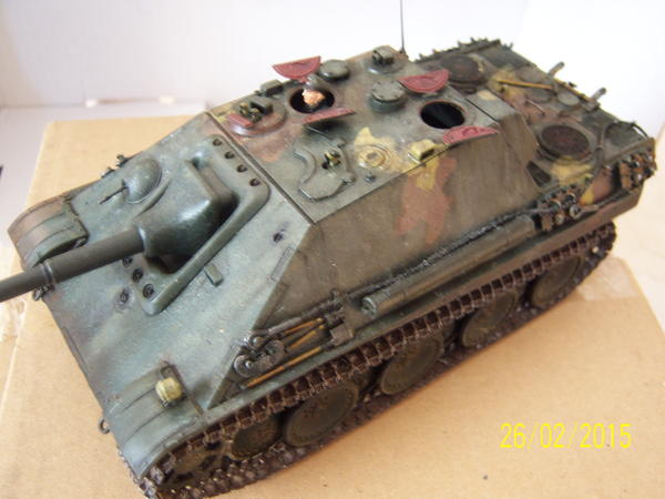 jagdpanther sp te ausf hrung in ro tal rc modelle. Black Bedroom Furniture Sets. Home Design Ideas