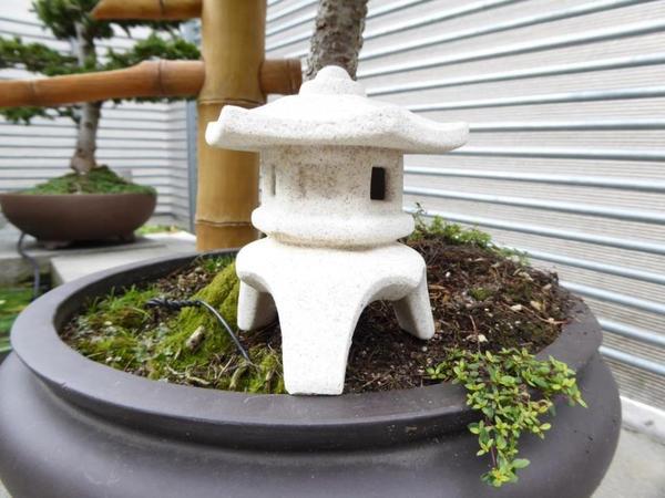 Japanische steinlampe steinlaterne dekoartikel in for Dekoartikel balkon