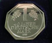 Jubiläums-Silbermark Spiegelglanz