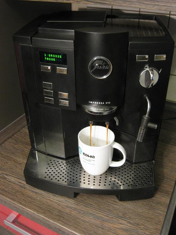 Tassen Jura : Jura impressa s tassen kaffeevollautomat in reilingen