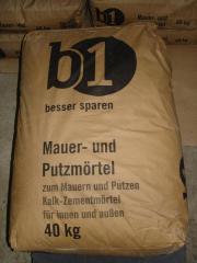 Kalk-Zementmörtel 5 -