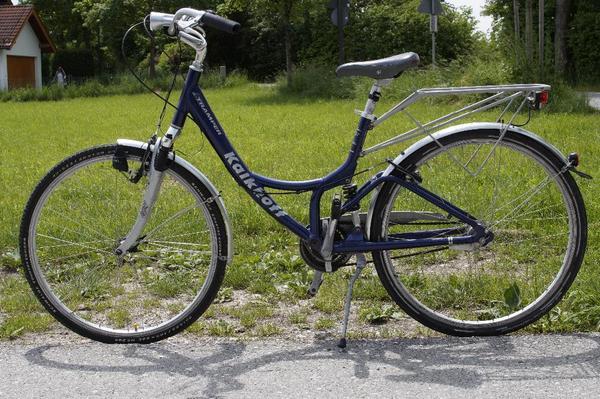 kalkhoff 28 39 damenrad vollgefedert fahrrad in. Black Bedroom Furniture Sets. Home Design Ideas