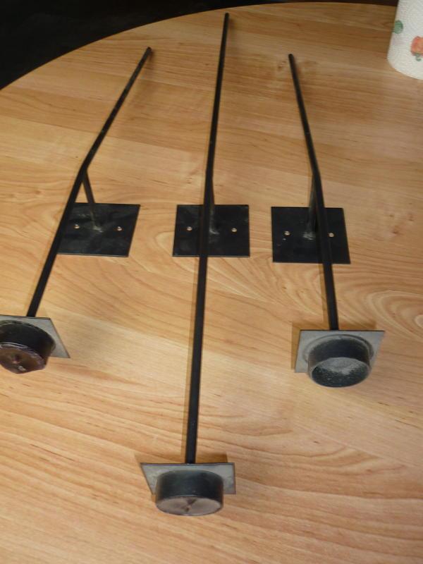 kerzenleuchter f r die wand f r teelichter in sinsheim dekoartikel kaufen und verkaufen ber. Black Bedroom Furniture Sets. Home Design Ideas