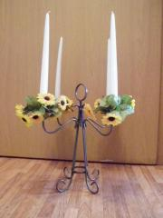 Kerzenständer Metall oder