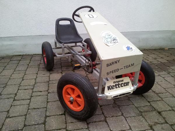 kettcar spezialumbau mit kinderfahrzeuge aus einhausen. Black Bedroom Furniture Sets. Home Design Ideas