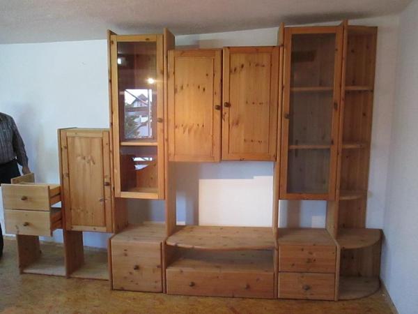 wohnwand kiefer neu und gebraucht kaufen bei. Black Bedroom Furniture Sets. Home Design Ideas