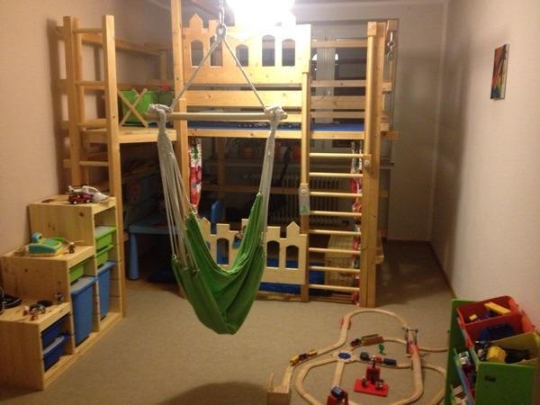 kinder hoch bett in m nchen kinder jugendzimmer kaufen. Black Bedroom Furniture Sets. Home Design Ideas