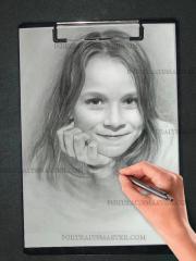 Kinderportrait eine Tolle