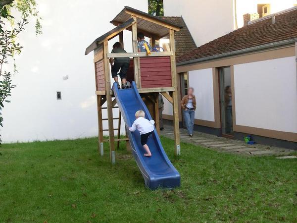 kinderspielhaus kletterger st karibu dreik sehoch in potsdam sonstiges f r den garten balkon. Black Bedroom Furniture Sets. Home Design Ideas