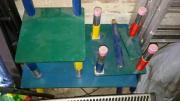 Kinderstuhl und Tisch