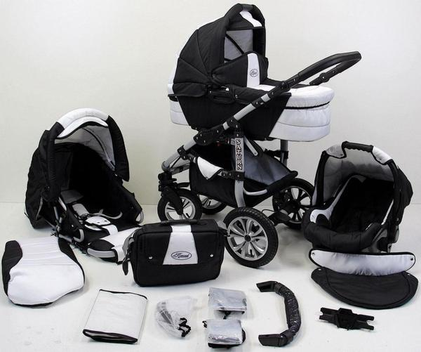 kinderwagen saturn 3 in 1 neuware komplettes set in. Black Bedroom Furniture Sets. Home Design Ideas