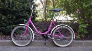 Klappbares Fahrrad der