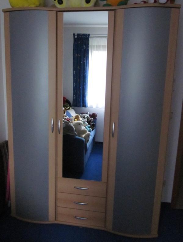 kleiderschrank studio line buche alu geb rstet in m nchen schr nke sonstige. Black Bedroom Furniture Sets. Home Design Ideas